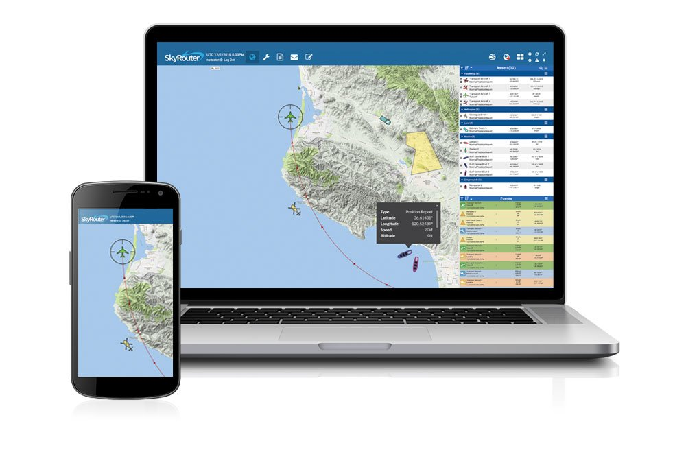 SkyRouter Tracking and Communications Platform
